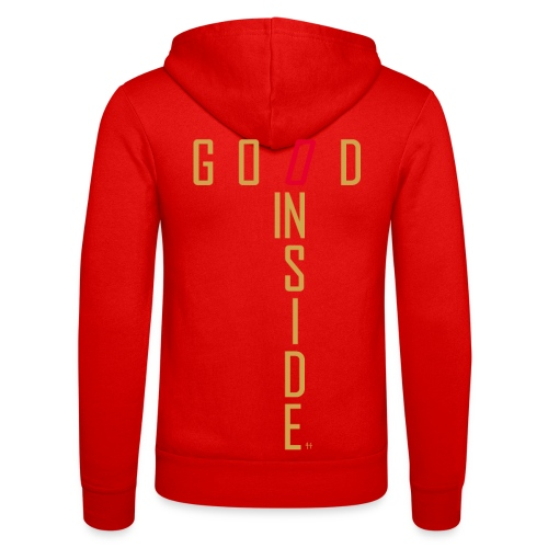 GOOD INSIDE - Unisex Hooded Jacket by Bella + Canvas