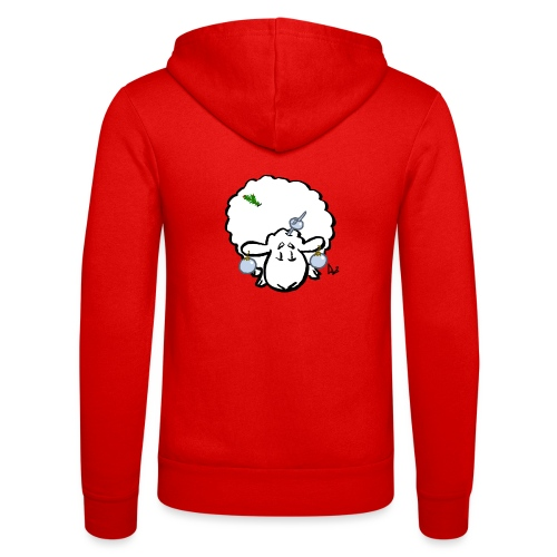 Christmas Tree Sheep - Unisex Hooded Jacket by Bella + Canvas