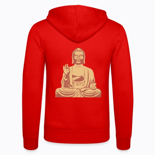buddha om - Unisex Hooded Jacket by Bella + Canvas