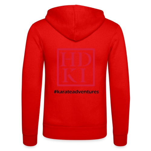 HDKI karateadventures - Unisex Hooded Jacket by Bella + Canvas