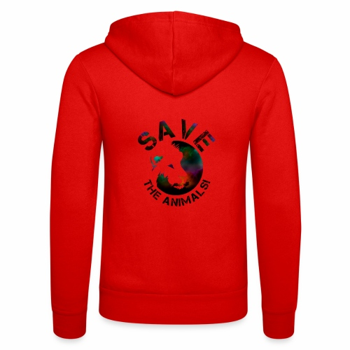 SAVE THE ANIMALS! KOLLEKTION BY Mikka_ufficiale - Unisex Kapuzenjacke von Bella + Canvas