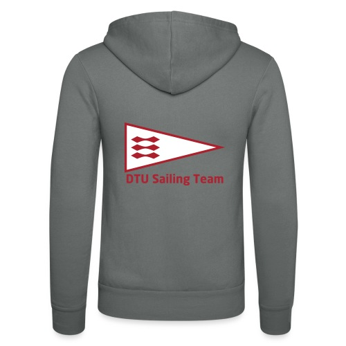 DTU Sailing Team Official Workout Weare - Unisex Hooded Jacket by Bella + Canvas