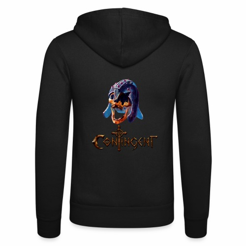 Contignent Logo - Unisex Hooded Jacket by Bella + Canvas