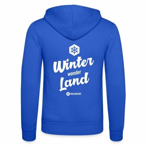 Winter Wonder Land - Unisex Bella + Canvas -hupputakki