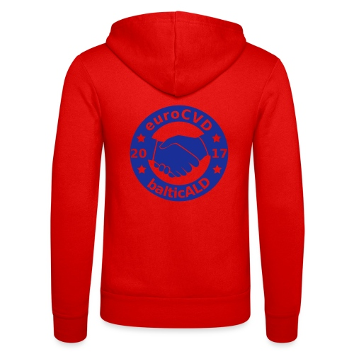 Joint EuroCVD - BalticALD conference mens t-shirt - Unisex Hooded Jacket by Bella + Canvas