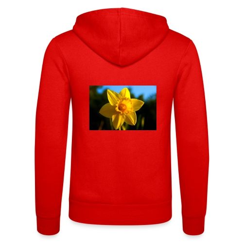 daffodil - Unisex Hooded Jacket by Bella + Canvas