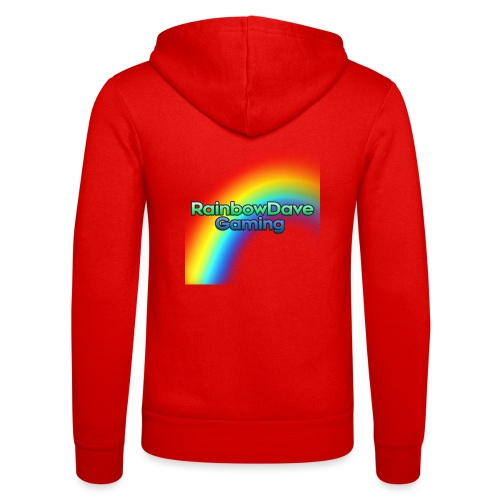 RainbowDave Gaming Logo - Unisex Hooded Jacket by Bella + Canvas