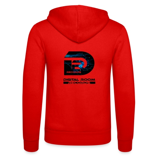 Digital Room Records Official Logo effect - Unisex Hooded Jacket by Bella + Canvas