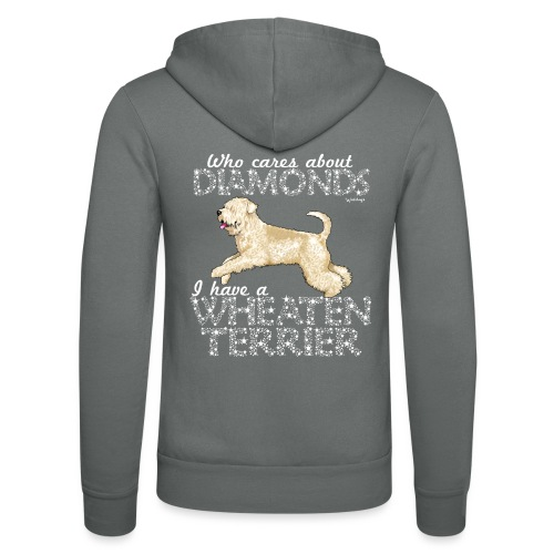 Wheaten Terrier Diamonds 4 - Unisex Hooded Jacket by Bella + Canvas