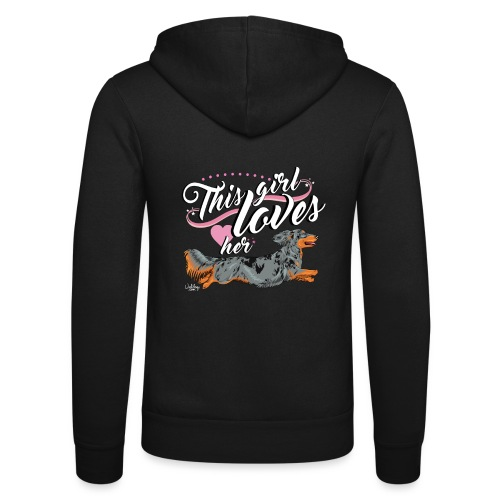 pitkisgirl - Unisex Hooded Jacket by Bella + Canvas