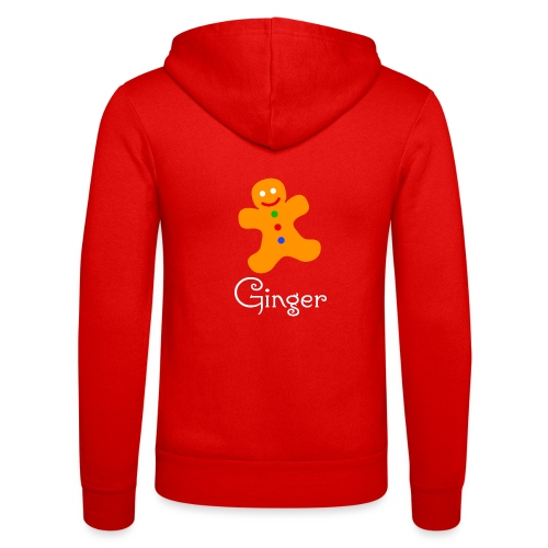 Gingerbread Man - Unisex Hooded Jacket by Bella + Canvas