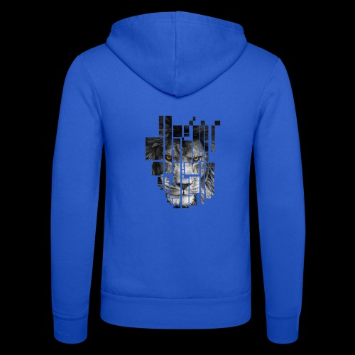 Pixel Lion Tattoo Inspire - Unisex Hooded Jacket by Bella + Canvas