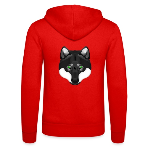 Wolf Head - Unisex Kapuzenjacke von Bella + Canvas