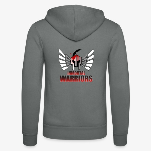 The Inmortal Warriors Team - Unisex Hooded Jacket by Bella + Canvas