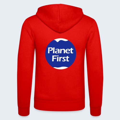 Planet First 2 - Unisex hoodie van Bella + Canvas