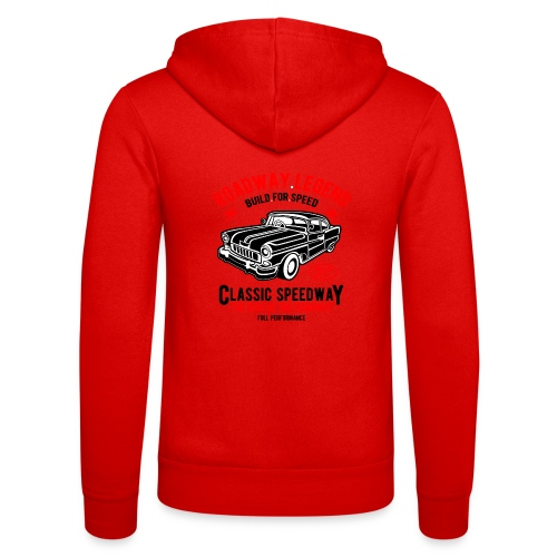 Roadway Legend Build for Speed - Unisex hoodie van Bella + Canvas