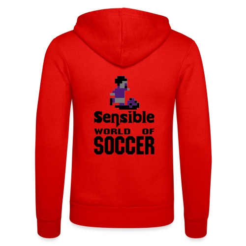 Sensible world of soccer - Felpa con cappuccio di Bella + Canvas
