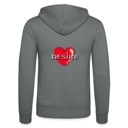 Desire Nightclub - Unisex Hooded Jacket by Bella + Canvas