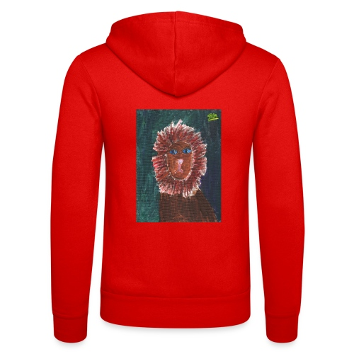 Lion T-Shirt By Isla - Unisex Hooded Jacket by Bella + Canvas