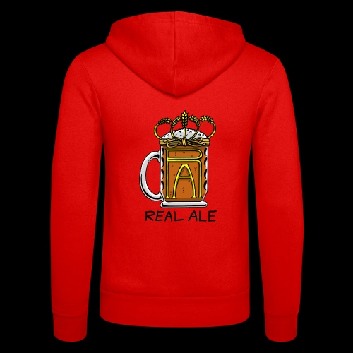 Real Ale - Unisex Hooded Jacket by Bella + Canvas