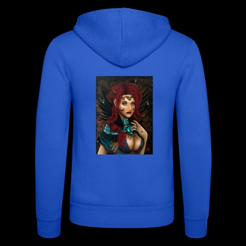Nymph - Unisex Hooded Jacket by Bella + Canvas