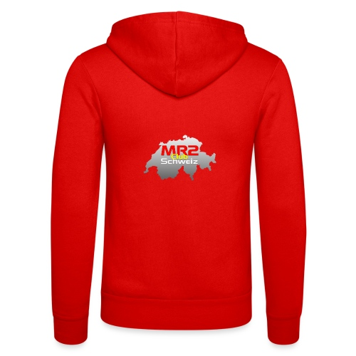 Logo MR2 Club Logo - Unisex Kapuzenjacke von Bella + Canvas