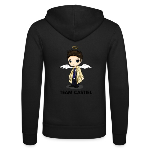 Team Castiel (light) - Unisex Hooded Jacket by Bella + Canvas