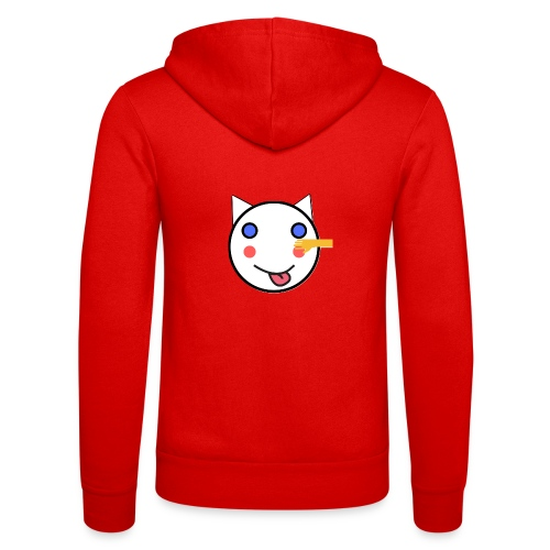 Alf Cat With Friend | Alf Da Cat - Unisex Hooded Jacket by Bella + Canvas