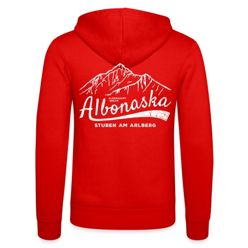 Albonaska - Unisex Hooded Jacket by Bella + Canvas