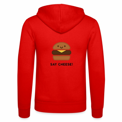 Say Cheese! - Unisex Hooded Jacket by Bella + Canvas