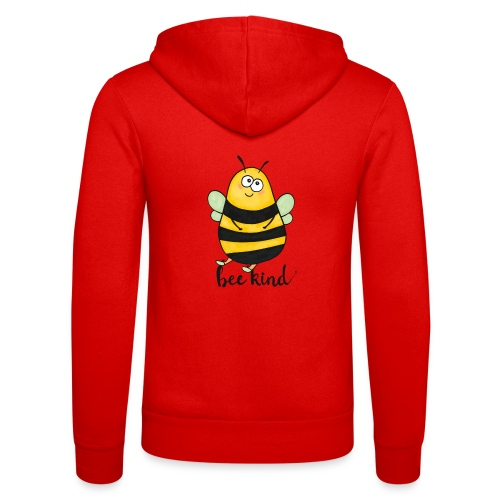 Bee Kind - Unisex Hooded Jacket by Bella + Canvas