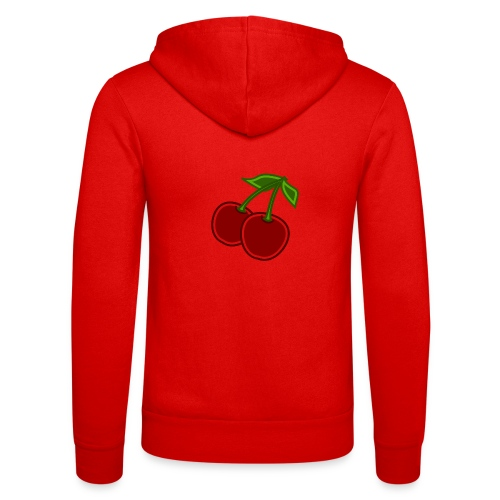 cherry - Bluza z kapturem Bella + Canvas typu unisex