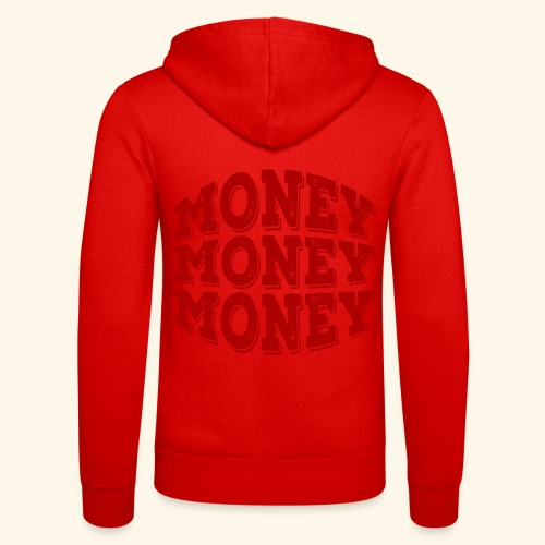 Money money money - Unisex Hooded Jacket by Bella + Canvas