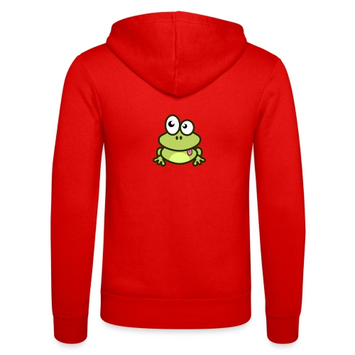 Frog Tshirt - Unisex Hooded Jacket by Bella + Canvas