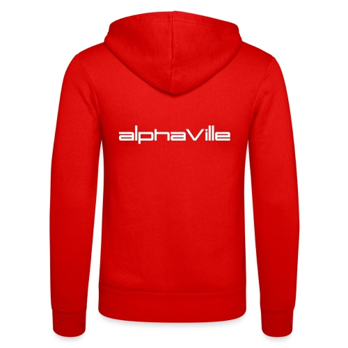 Alphaville © Official: Logo (adjustable color) - Unisex Kapuzenjacke von Bella + Canvas