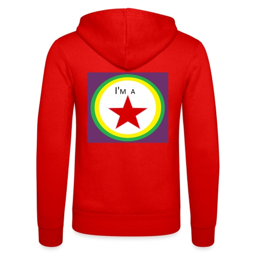 I'm a STAR! - Unisex Hooded Jacket by Bella + Canvas