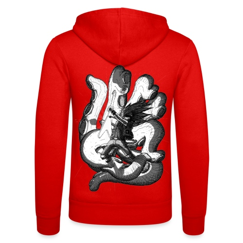 Octopus - Unisex Hooded Jacket by Bella + Canvas