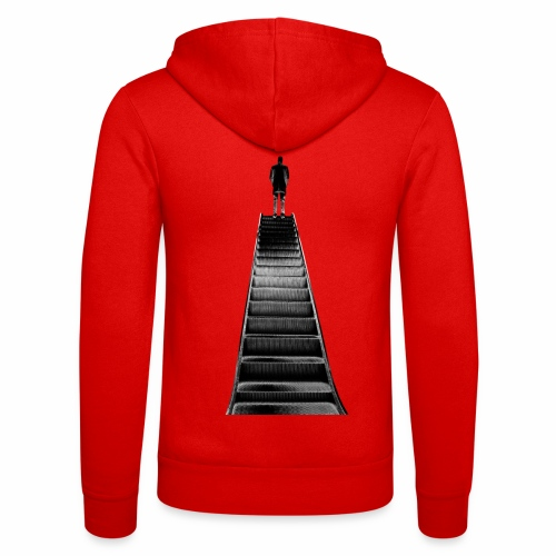 Stairway to Heaven - Unisex Hooded Jacket by Bella + Canvas