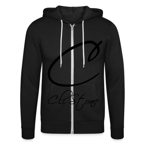 Cli Stone - Unisex Hooded Jacket by Bella + Canvas
