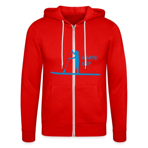 What's SUP - Unisex Kapuzenjacke von Bella + Canvas