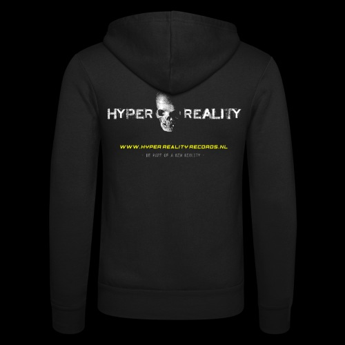 HRR LOGO BACK - Unisex Hooded Jacket by Bella + Canvas