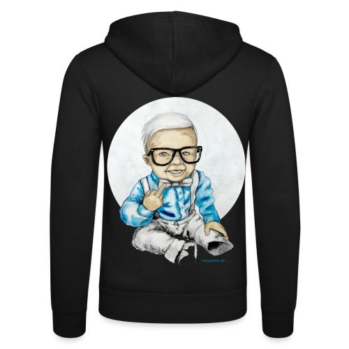 Naughty Boy, carographic - Unisex Kapuzenjacke von Bella + Canvas