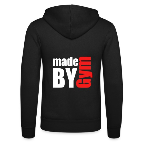 myde by gym - Unisex Kapuzenjacke von Bella + Canvas