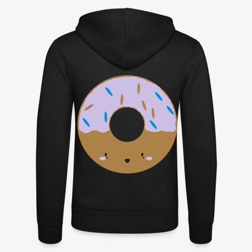 Icing Donut - Unisex Hooded Jacket by Bella + Canvas
