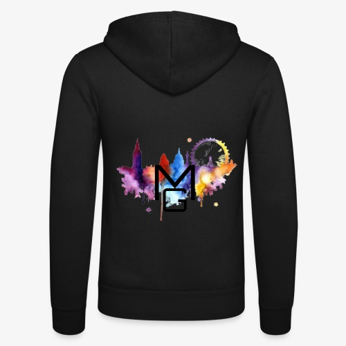 London Watercolour MG - Unisex Hooded Jacket by Bella + Canvas