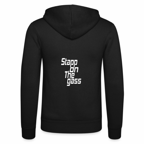 Stapp On The Gass Design - Unisex hoodie van Bella + Canvas