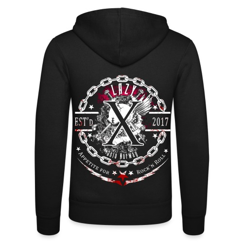 Lazy X - Appetite for Rock'n Roll - Unisex Hooded Jacket by Bella + Canvas