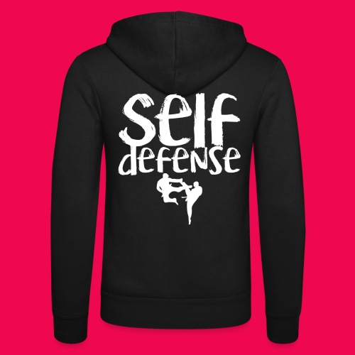 Self Defense 1.0 - Unisex Kapuzenjacke von Bella + Canvas