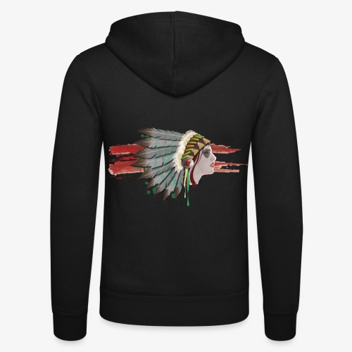 Native american - Veste à capuche unisexe Bella + Canvas