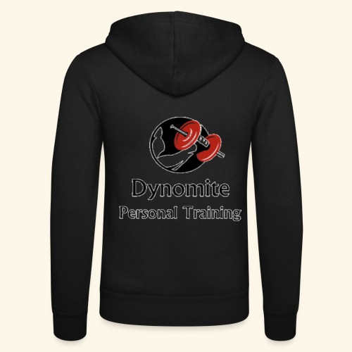 Dynomite Personal Training - Unisex Hooded Jacket by Bella + Canvas